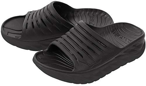 HOKA ONE ONE Womens ORA Recovery Slide 2 Black/Black Sandal - 10