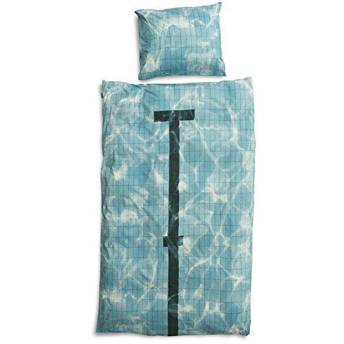Snurk Parure de lit Piscine - 1 Personne 140x200 cm