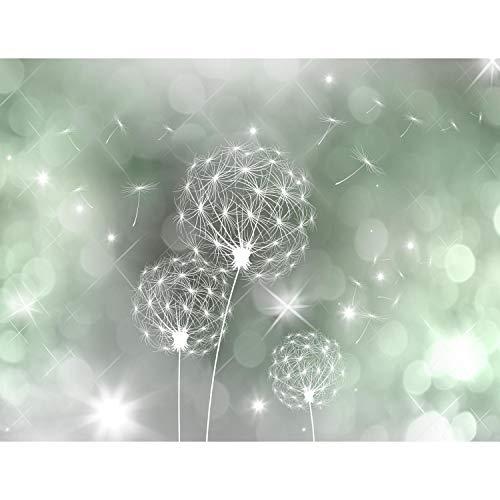 Fototapeten Pusteblumen 352 x 250 cm Vlies Wand Tapete Wohnzimmer Schlafzimmer Büro Flur Dekoration Wandbilder XXL Moderne Wanddeko Flower 100% MADE IN GERMANY - Runa Tapeten 9174011c
