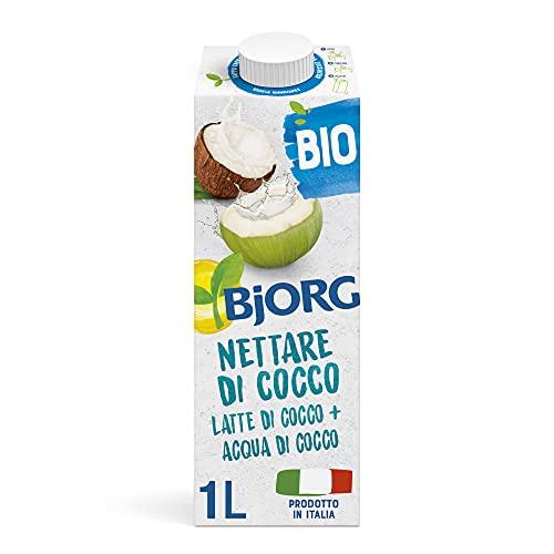 BJORG Bevanda Nettare di Cocco Biologica (1L) Senza Zuccheri Aggiunti
