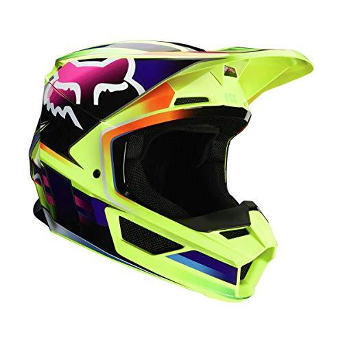 Fox Racing 2020 V1 Helmet - Gama (Large) (Yellow)