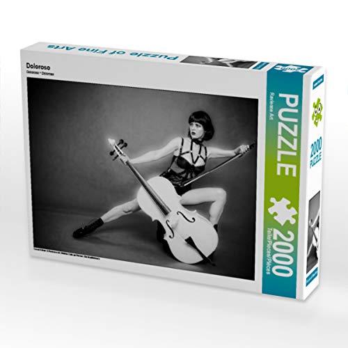 CALVENDO Puzzle Doloroso 2000 Teile Lege-Größe 90 x 67 cm Foto-Puzzle Bild von Ravienne Art