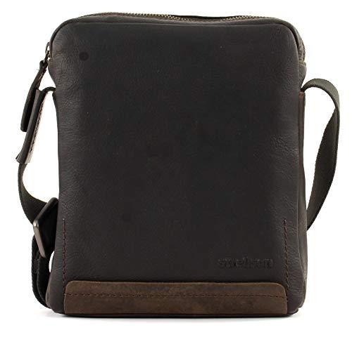 Preisvergleich Produktbild Strellson Herren Schultertasche Camden Tasche aus Leder