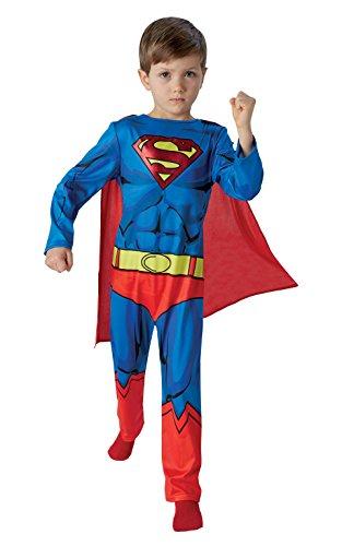 Rubies Warner - I-610780m - Disfraz Para Niños - Classic Superman Comic Book - Talla M