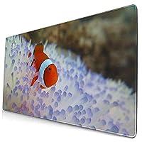 Nemo (27)ゲーミングデスクマット ゲーミングマウスパッド キーボードマット Pu デスクパッド 光学式マウス対応 ノートパソコン対応 いマウスパッド オフィス ファッション