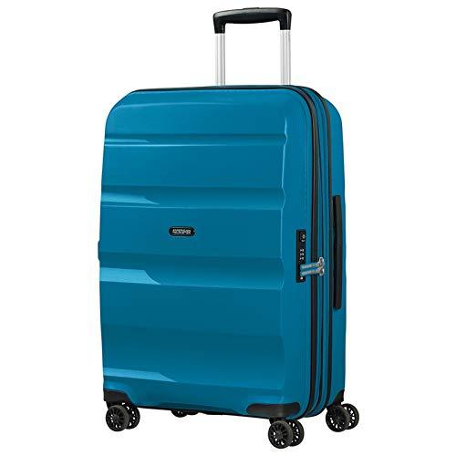American Tourister Bon Air DLX Maleta con 4 Ruedas Azul 66 cm