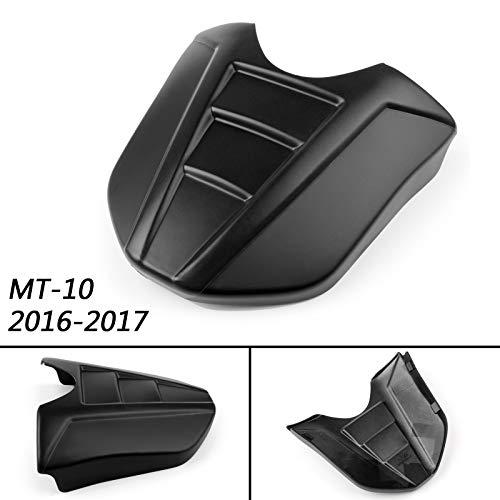 Artudatech Motorrad Soziusabdeckung Sitzkappe Verkleidung Heckabdeckung Rücksitzbezug Rear Seat Cowl Fairing Tail Cover für Yamaha MT-10 MT 10 2016 2017