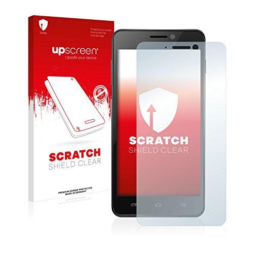 upscreen Protector Pantalla Compatible con Kazam Trooper 450L Película Protectora – Transparente, Anti-Huellas