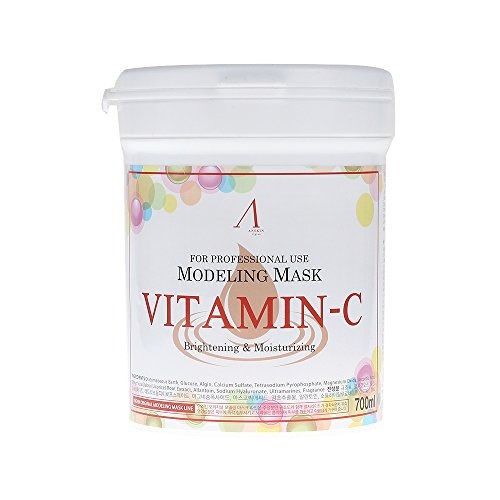 ANSKIN Vitamin Modeling Mask Powder Pack 700ml(240g) for Brightening & Moisturizing (New Version/Old Version)