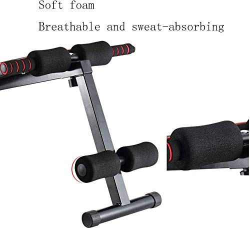 Product Image 3: Adjustable Fitness Benches Ab Sit Up Bench Folding Fitness Training Weight Bench Home Gym Leg Fixation Easy Storage Abdominal Back Dumbbells Has A Max Weight Capacity Of 150 Kg Uptodate