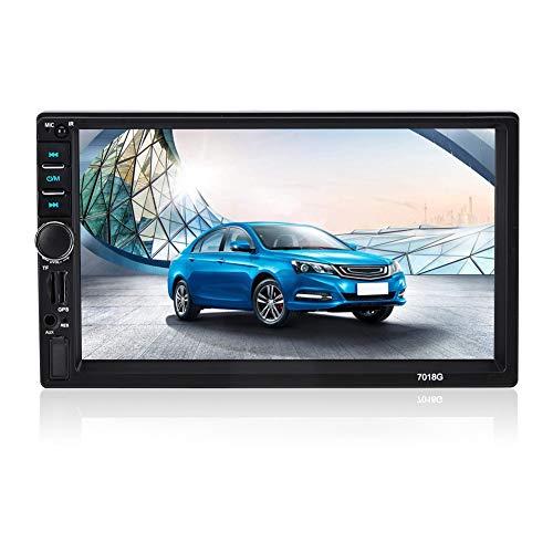 Doppio DIN Car Stereo, Navigazione GPS per Auto, Bluetooth 7 Pollici HD MP5 Autoradio Lettore multimediale Chiamata Vivavoce