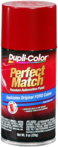 Dupli-Color EBFM01887 Candy Apple Red Ford Exact-Match Automotive Paint - 8 oz. Aerosol
