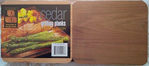Coastal Cuisine Cedar Grilling Planks, Set of 8 Multi-length