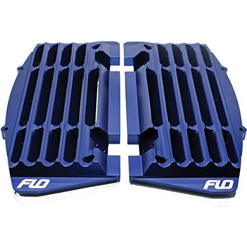 FLO Motorsports High Flow Radiator Braces (Blue) for 16-22 KTM 250SXF