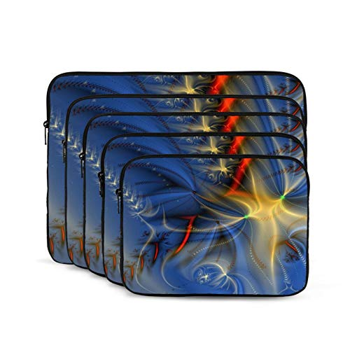 Abstract Background Design Laptop Sleeve 10 inch, Shock Resistant Notebook Briefcase, Computer Protective Bag, Tablet Carrying Case for MacBook Pro/MacBook Air/Asus/Dell/Lenovo/Hp/Samsung/Sony