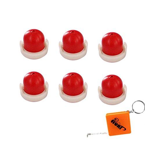 HURI 6x Primer Benzinpumpe Quantum Pumpe Ersetzt Briggs Stratton 694395 496115 Wolf 2057 181 MTD BS496115
