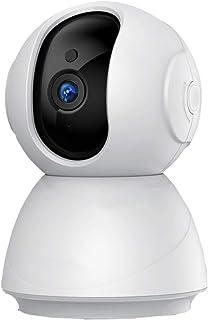 BYBYC Cámara Cámara 1080P Las cámaras de Seguridad IP WiFi de la cámara de vigilancia Infrarrojos de visión Nocturna P2P Animal doméstico del MonitorBlanco