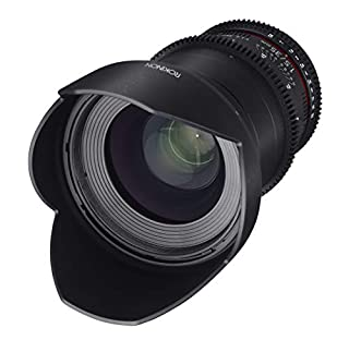 Rokinon DS35M-MFT Cine DS 35mm T1.5 AS IF UMC Full Frame Cine Wide Angle Lens for Olympus and Panasonic Micro Four Thirds 35-35mm Fixed Lens for Olympus/Panasonic Micro 4/3 Cameras (B00MZCCDA6)   Amazon price tracker / tracking, Amazon price history charts, Amazon price watches, Amazon price drop alerts