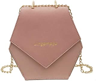 Wultia - Women Vintage Crossbody Bag Chic Harajuku Shoulder New Arrival 2018 Hot Sale High Quality Single Shoulder Bags Bolsa Feminina Pink