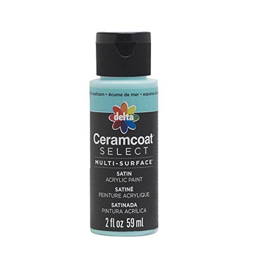Plaid:Delta 04021 Ceramcoat Select Multi-Surface Paint, 2 oz, Seafoam