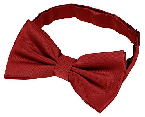 Helido Papillon annodato per uomini + confezione regalo (Rosso)