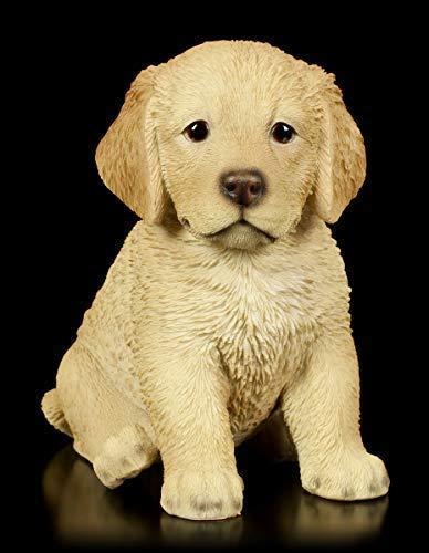 Hunde-Baby Figur Golden Retriever Welpe | Tier-Figur, handbemalt