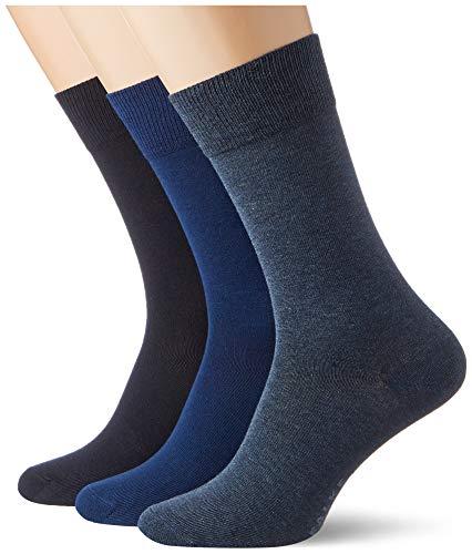 FALKE Herren Happy Box 3-Pack M SO Socken, Mehrfarbig (Sortiment 20), 39-42 (3er Pack)