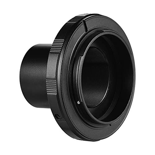Explopur Camera Telespe Adaptador de Anillo para fotografía, Accesorio de Repuesto para cámara Nikon, Ocular de 1,25 Pulgadas, telespio T2 para fotografía de paisajes, astrofotografía