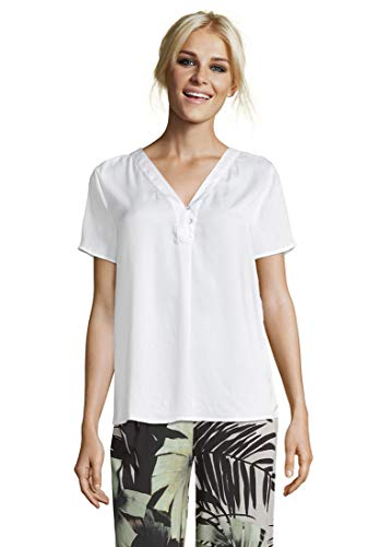 Cartoon Damen 8614/7498 Bluse, Bright White, 36