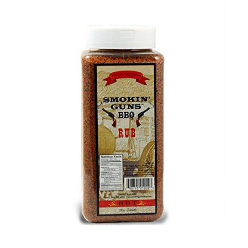 Condimento Smokin' Guns BBQ 'Hot' (Picante) - 907g (32 oz)