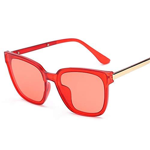 P-WEIAN zonnebril, transparant Rouge Rougeâtre