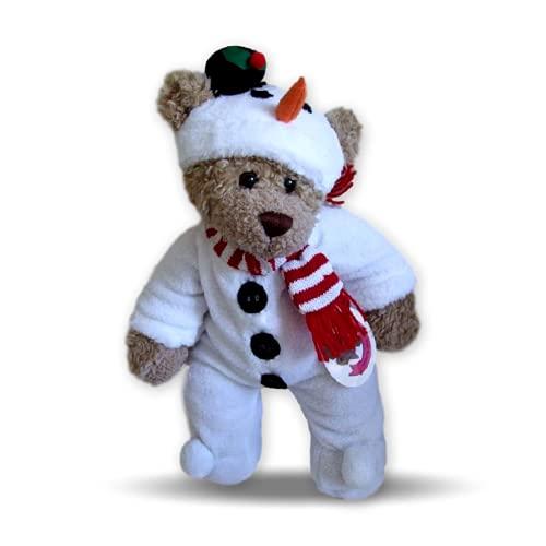 Baue Dein Bears Kleiderschrank Schneemann Fleece Teddy Kleidung passt Build A Bear Teddies (weiß)