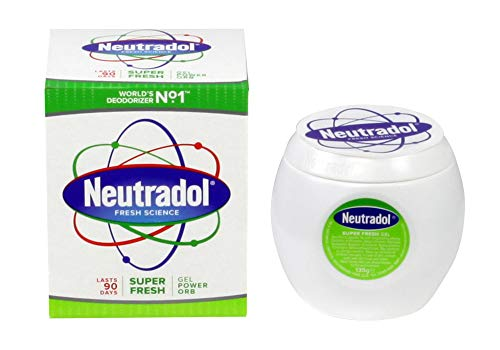 THREE PACKS of Neutradol Gel Odour Destroyer Super Fresh