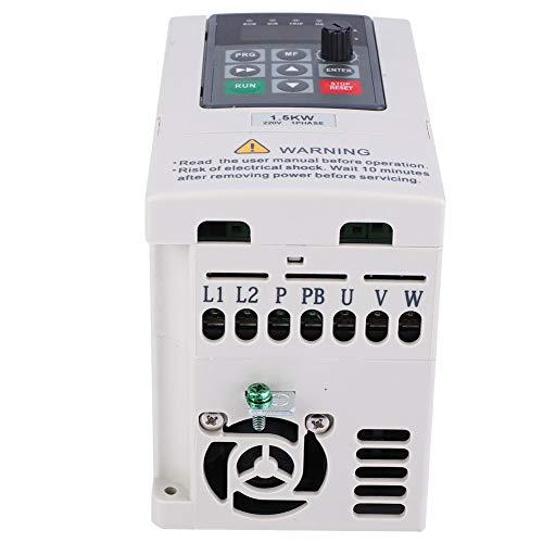 Inversor frontal monofásico, tipo control automático 1 fase 220 V trifásico 220 V inversor convertidor de frecuencia variable con plástico