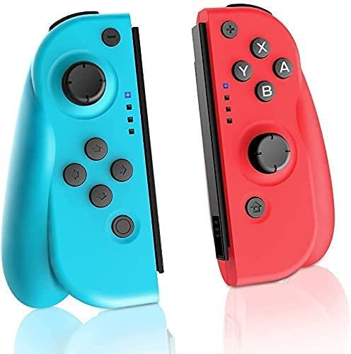 JOYSKY Switch Controllers Bluetooth Wireless Gamepad Joystick for Nintendo...