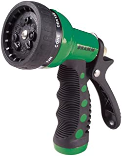 Dramm 12704 9-Pattern Revolver Spray Nozzle, Green