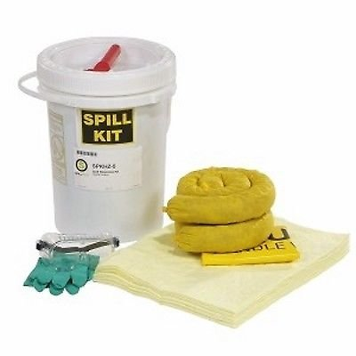 SpillTech SPKHZ-5 23 Piece HazMat 5 gallon Spill Kit