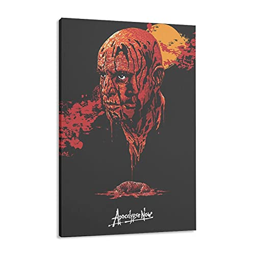 Affiche de film rétro Apocalypse Now 1979 - Décoration de chambre à coucher, paysage, sport, bureau, chambre - 50 x 75 cm