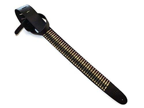 Buckle-Down Guitar Strap 2 Wide Bullets 29-54 Length Multicolor