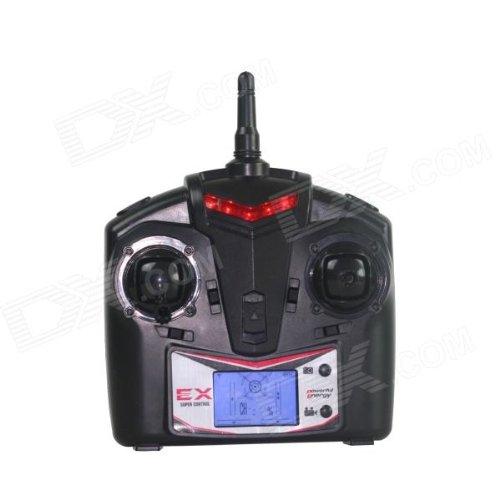 s-idee® 01162 Quadcopter mit Kamera 4.5 Kanal 2,4 Ghz Quadrocopter RC ferngesteuerter Hubschrauber/Helikopter/Heli mit GYROSCOPE-TECHNIK + 2,4Ghz TECHNOLOGIE!!! für INNEN und AUSSEN brandneu mit eingebautem GYRO und 2.4 GHz Steuerung! FLUGFE