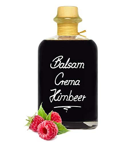 Balsamico Creme Himbeer 0,5L 3% Säure mit original Crema di Aceto Balsamico di Modena IGP
