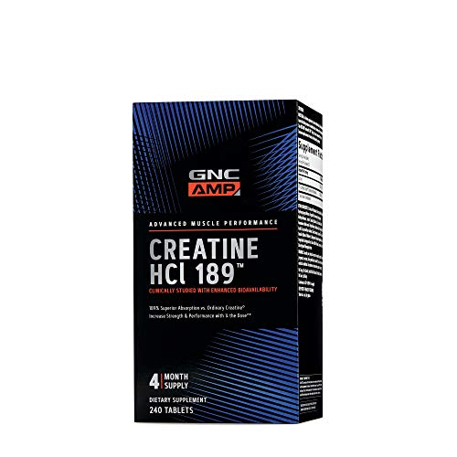 GNC AMP HCl 189, 240 Tablets