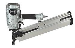 Hitachi NR90AE Round Head 2-Inch to 3-1/2-Inch Framing Nailer - Power Framing Nailers