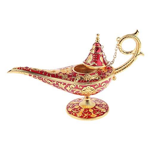 GPWDSN Decoración de iluminación Interior de lámpara de Aceite Aladin árabe Vintage