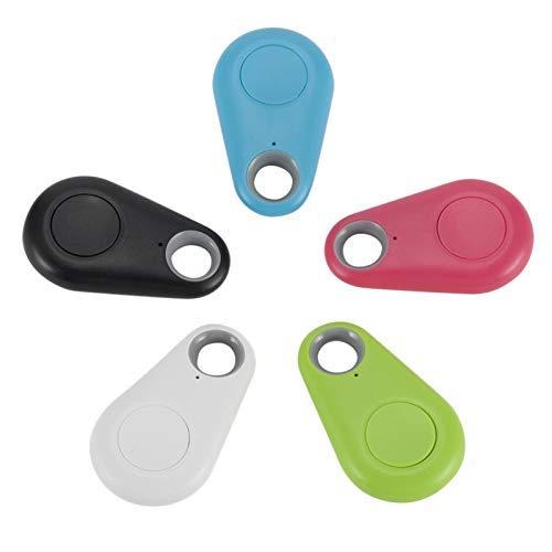Smart Tag 4.0 Rastreador Monedero Buscador de llaveros Localizador GPS Alarma antipérdida (5 piezas/juego)
