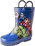 Favorite Characters Boy's Avengers Rain Boots AVS505 (Toddler/Little Kid) Blue 8 Toddler M