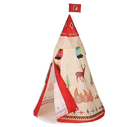 T best Kinderzelt, Kinder Indoor Outdoor Spielzeugzelt Garden House Portable Playhouse für Jungen und Mädchen