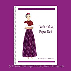 frida kahlo art style gifts ~ paper doll