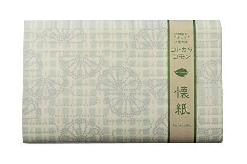 くろちく おしゃれ懐紙 格子菊水紋 71909733