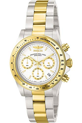 Invicta Men's 9212 Speedway Analog Japanese Quartz Chronograph Stainless Steel Watch
